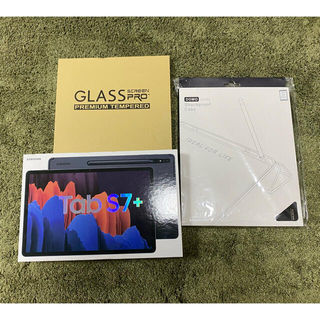 Galaxy - Galaxy Tab S7+ 12.4インチ 256GB セルラー版+付属品多数