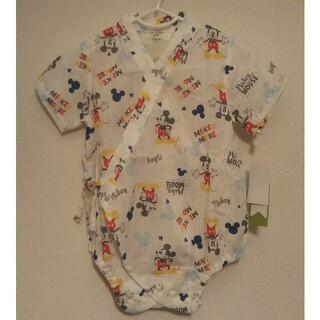 ディズニー(Disney)の【未使用】ディズニー ミッキーマウス 甚平 夏服 夏物 パジャマ 60~70(甚平/浴衣)