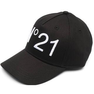 ヌメロヴェントゥーノ(N°21)の【新作】ヌメロヴェントゥーノ ロゴ キャップ 56センチ 男性もOK(キャップ)