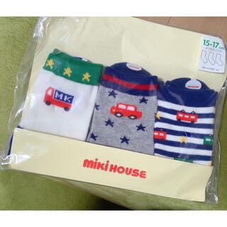 mikihouse - ミキハウス 3足セット靴下