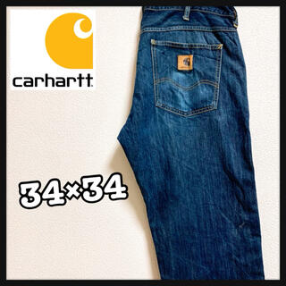 carhartt - 90s Carhartt カーハート デニムパンツ ジーンズ インディゴ ブルー