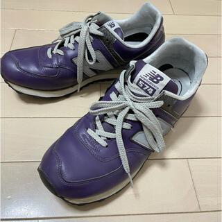 ニューバランス(New Balance)のNew balance ニューバランス 574 パープル 紫 28cm(スニーカー)