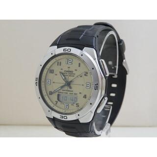 CASIO 電波ソーラー腕時計 WVA-470 デジアナ タフソーラー