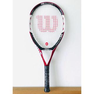 ウィルソン(wilson)の新品同様/ウィルソン『NコードN5フォース/NCODE』テニスラケット/レッド(ラケット)