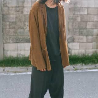 コモリ(COMOLI)のCOMOLI(コモリ)シープスキンジャケット サイズ3 21ss(カバーオール)
