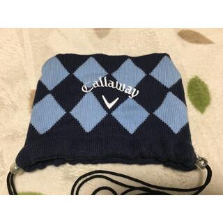 キャロウェイゴルフ(Callaway Golf)の人気⭐️Callaway golf  アイアンカバー ダイヤ柄 ニット(バッグ)
