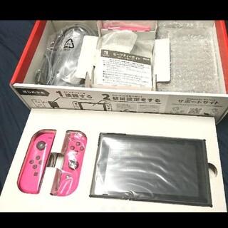 ニンテンドースイッチ(Nintendo Switch)のNintendoSwitch ピンク 本体 ニンテンドースイッチ(家庭用ゲーム機本体)