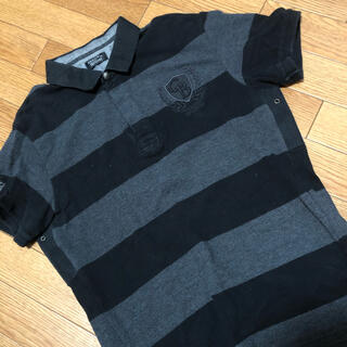 ZARA - ZARAポロシャツ 黒 Lサイズ