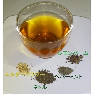 """お試し用 """"ネトル&エルダーフラワー"""" ℬハーブ(約5回分)(茶)"""