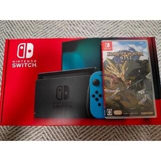 ニンテンドースイッチ(Nintendo Switch)のNintendo Switch + モンスターハンターライズ(家庭用ゲーム機本体)