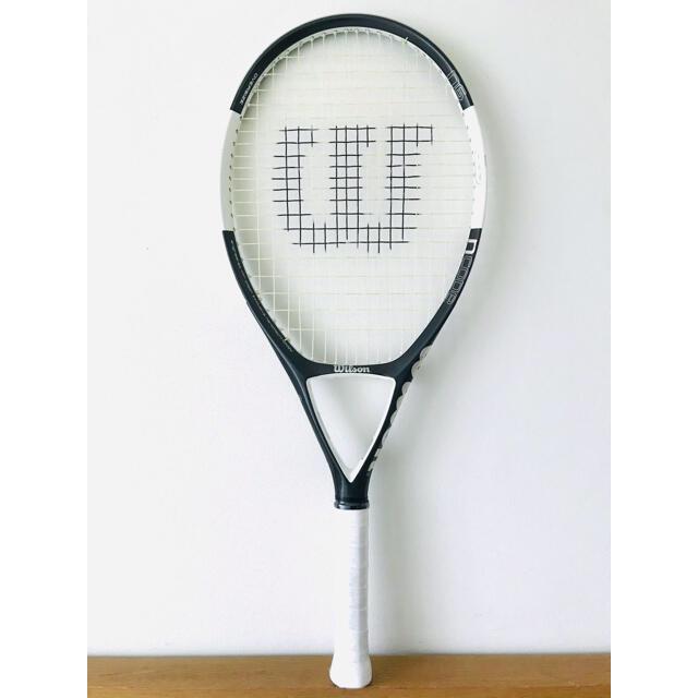wilson(ウィルソン)の【美品】ウィルソン『Nコード N6/NCODE』テニスラケット/ダークグレー スポーツ/アウトドアのテニス(ラケット)の商品写真