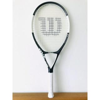 ウィルソン(wilson)の【美品】ウィルソン『Nコード N6/NCODE』テニスラケット/ダークグレー(ラケット)