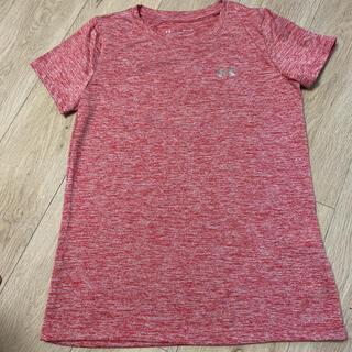 UNDER ARMOUR - アンダーアーマー UNDER ARMOUR トレーニング シャツ ピンク