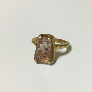 アッシュペーフランス(H.P.FRANCE)のレピドクロサイト リング 指輪(リング(指輪))