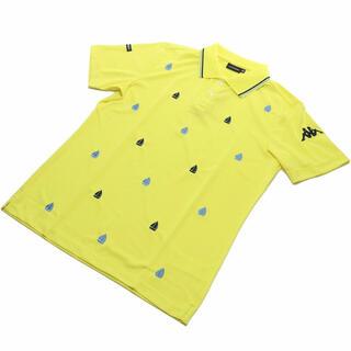 カッパ(Kappa)のカッパ KAPPA GOLF メンズ−ポロシャツ YE イエロー系(ウエア)