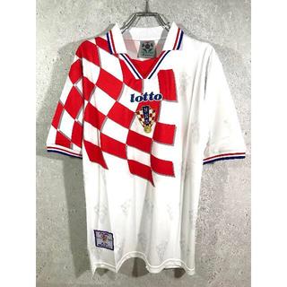 ロット(lotto)のK様専用 クロアチア代表 98's フランスW杯 ホーム ユニフォーム(ウェア)