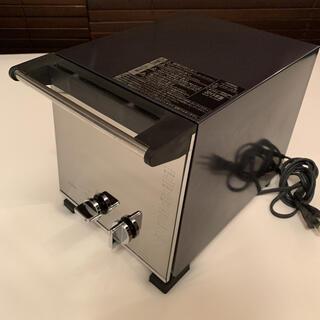 ツインバード(TWINBIRD)のスリムオーブントースター パールブラック(調理機器)