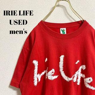 アイリーライフ(IRIE LIFE)のIRIE LIFE アイリーライフ メンズ 半袖Tシャツ ビッグロゴ L(Tシャツ/カットソー(半袖/袖なし))