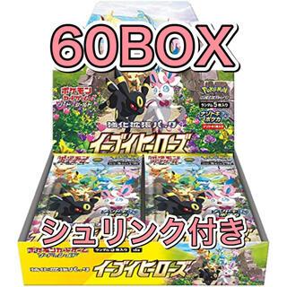 ポケモン(ポケモン)の【新品未開封 正規シュリンク付き】イーブイヒーローズ 拡張60BOX(Box/デッキ/パック)