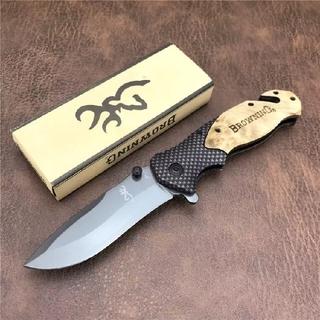 フォールディングナイフ X-50 折り畳みナイフ フィッシング、キャンプ 新品(その他)