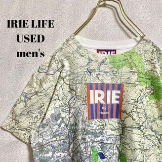 アイリーライフ(IRIE LIFE)のIRIE LIFE アイリーライフ メンズ 半袖Tシャツ 総柄  レゲエ M(Tシャツ/カットソー(半袖/袖なし))