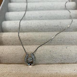 0.3ctダイヤモンドネックレス pt900/850(ネックレス)