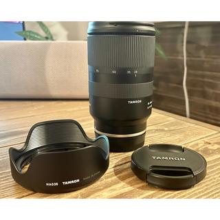 タムロン(TAMRON)の28-75mm F2.8 Tamron Sony フルサイズ レンズ(レンズ(単焦点))