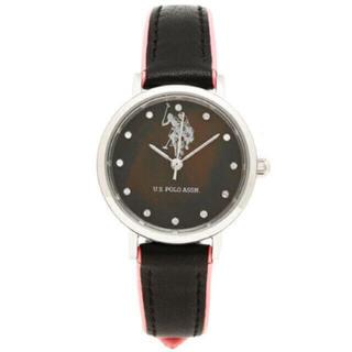 ポロラルフローレン(POLO RALPH LAUREN)のユーエス ポロ 時計US POLO ASSN US-2A-BK ピンク(腕時計)