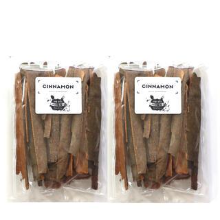 シナモンスティック50g 2袋 保存に便利なチャック式袋(調味料)