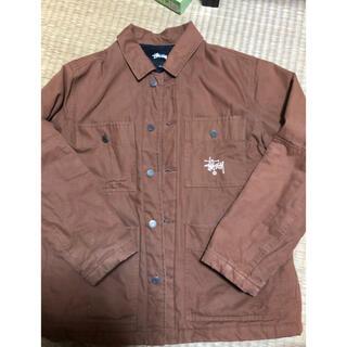 ステューシー(STUSSY)のSTUSSY quilted chore coat(カバーオール)