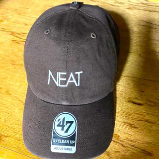 コモリ(COMOLI)のNEAT ニート フォーティーセブン ブラウン CAP キャップ(キャップ)