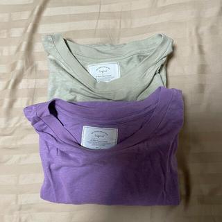 アングリッド(Ungrid)のアングリッド ビッグシルエットネップTee 2枚(Tシャツ(長袖/七分))
