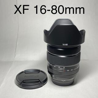 フジフイルム(富士フイルム)の【美品】FUJIFILM XF 16-80mm F4 R OIS WR(レンズ(ズーム))