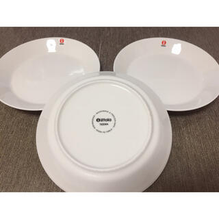 イッタラ(iittala)のイッタラ 3枚  iittala ティーマ ホワイト 17cm(食器)