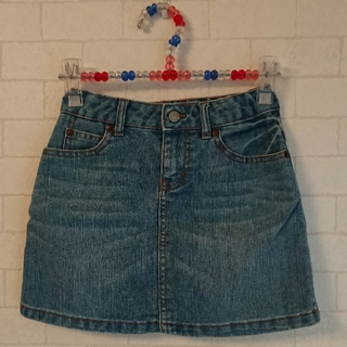 ユニクロ(UNIQLO)のUNIQLO ユニクロ キッズ デニム スカート 120cm(スカート)