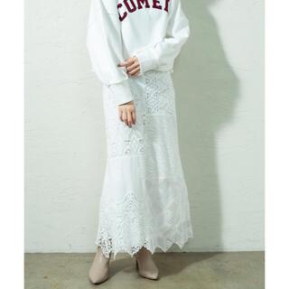 ミスティック(mystic)のmystic(ミスティック)  レースパネルスカート 新品  完売品(ロングスカート)