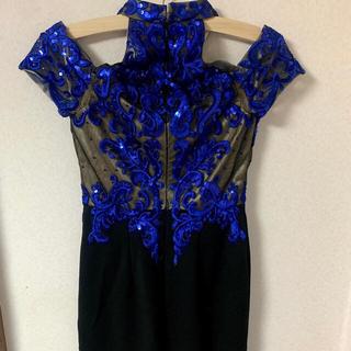 アンディ(Andy)の青 ドレス ブルードレス キャバドレス ホステスドレス(ミニワンピース)