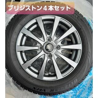 BRIDGESTONE - スタッドレスタイヤ 165 65R14  4本セットアルミホイール付き ソリオ