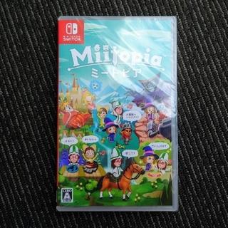 ニンテンドースイッチ(Nintendo Switch)の新品未開封 ニンテンドー スイッチ ソフト ミートピア Miitopia (家庭用ゲームソフト)