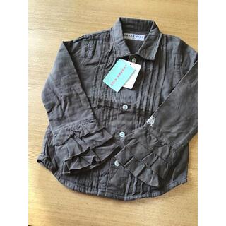 ハッカキッズ(hakka kids)のHAKKAKIDSハッカキッズ☆100センチ☆未使用シャツ(Tシャツ/カットソー)