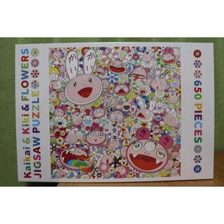 村上隆 Kaikai Kiki Flower お花 ジグソーパズル Puzzle(キャラクターグッズ)