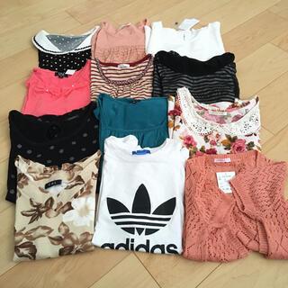 アディダス(adidas)のレディース トップス Tシャツ まとめ売り(Tシャツ(半袖/袖なし))