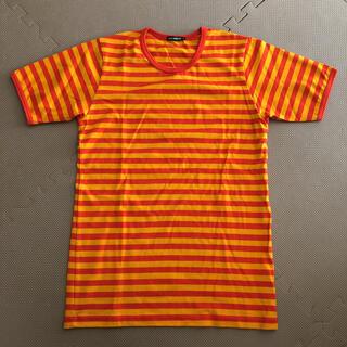 マリメッコ(marimekko)のマリメッコ ボーダーTシャツ 半袖(Tシャツ/カットソー(半袖/袖なし))