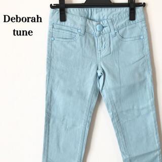 デボラチューン(Deborah tune)の【新品未使用】Deborah tune デボラチューン クロップドパンツ 水色(クロップドパンツ)