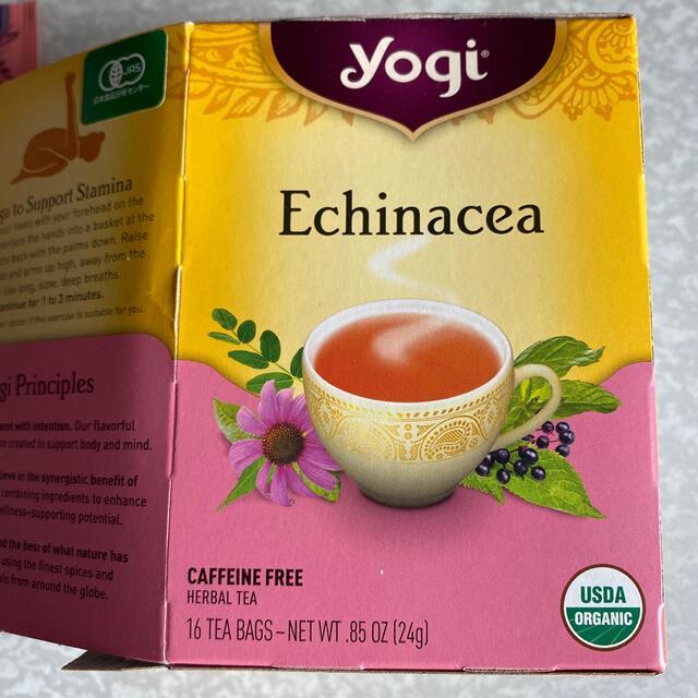 KALDI(カルディ)のyogi Echinacea エキナセアブレンド 14パック 食品/飲料/酒の飲料(茶)の商品写真