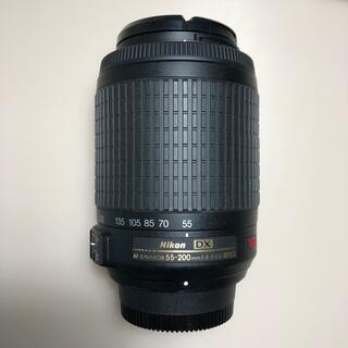 ニコン(Nikon)のNIKON AF-S DX VR Zoom Nikkor 55-200 ニコン(デジタル一眼)