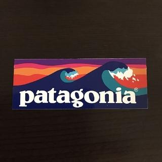 パタゴニア(patagonia)の(縦3.4cm横8.9cm) patagonia 公式ステッカー(その他)