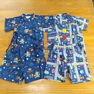 ディズニー(Disney)のベビー用夏物パジャマ&甚平(甚平/浴衣)