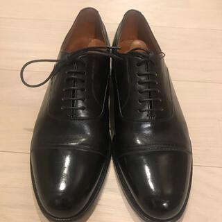 Crockett&Jones - 美品 42ndロイヤルハイランド ストレートチップ  革靴 26.5cm