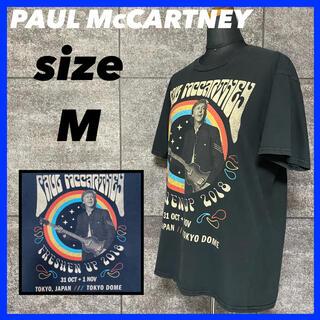 PAUL McCARTNEY ポール・マッカートニー ツアー Tシャツ(Tシャツ/カットソー(半袖/袖なし))